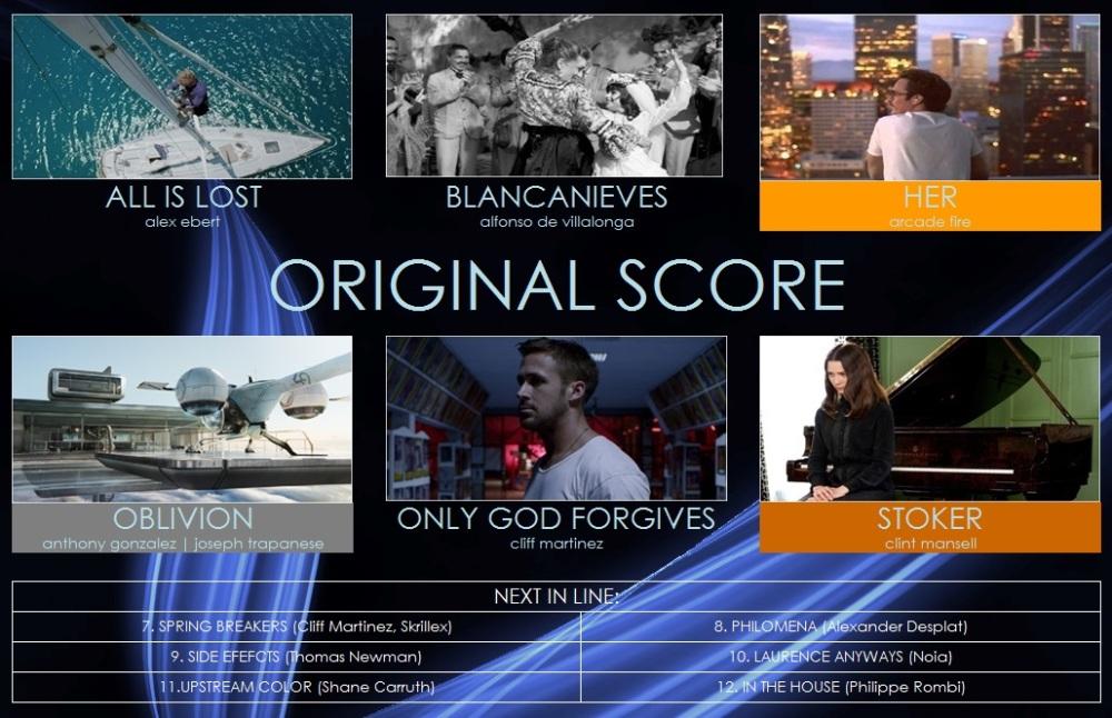best original score
