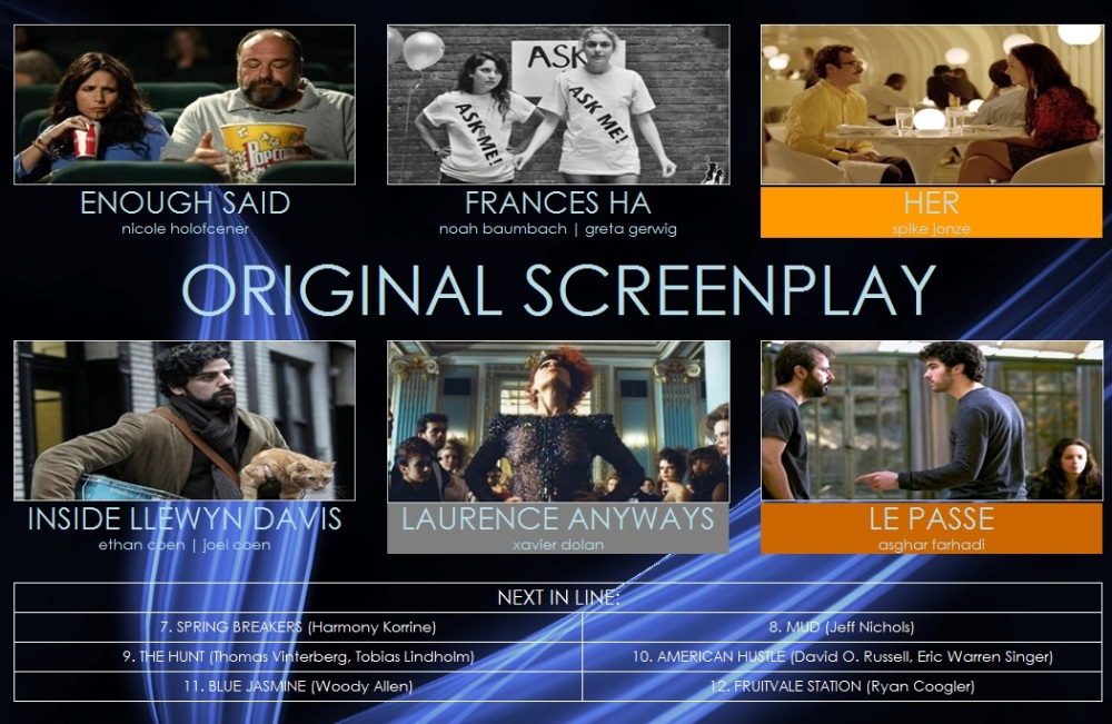 best original screenplay