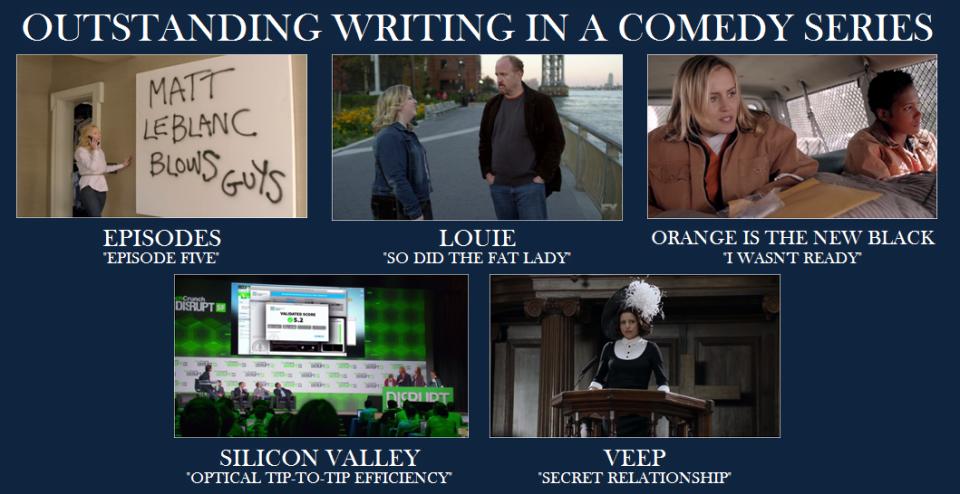 Emmy Comedy Writing