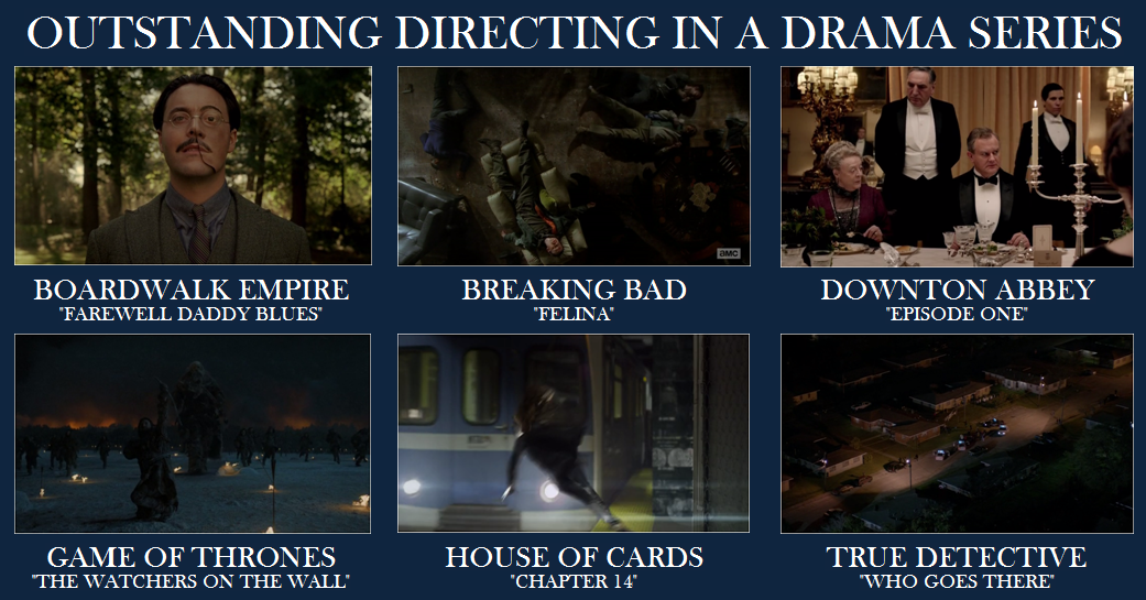 Emmy Drama Directing
