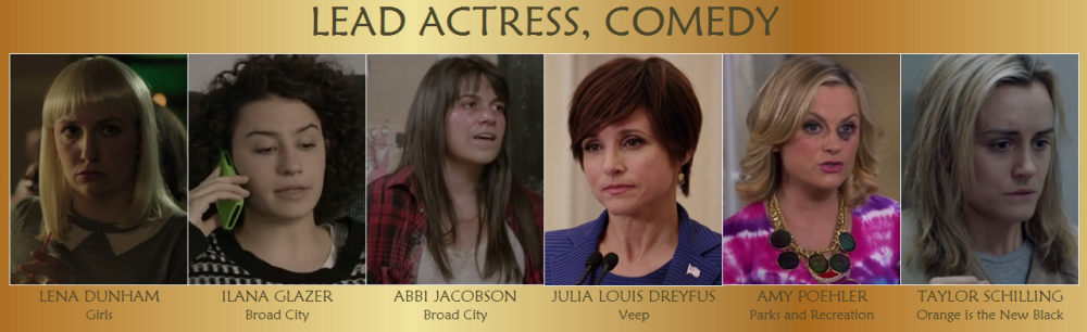Lead Actress Comedy