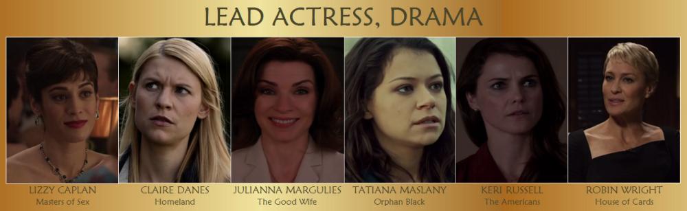 Lead Actress Drama