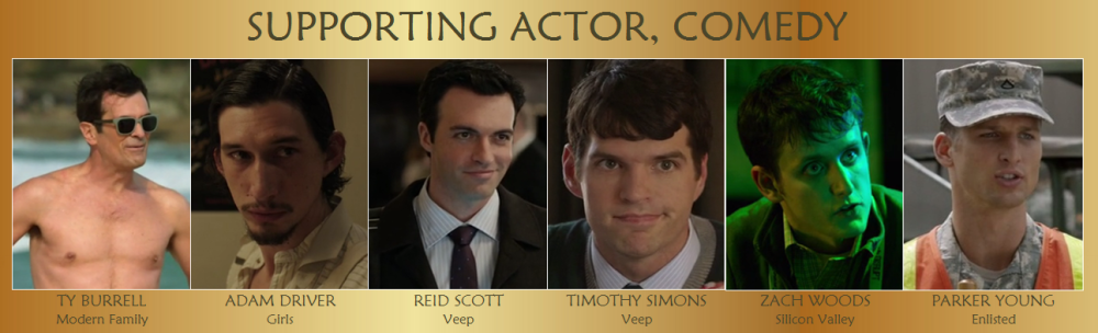Supporting Actor Comedy