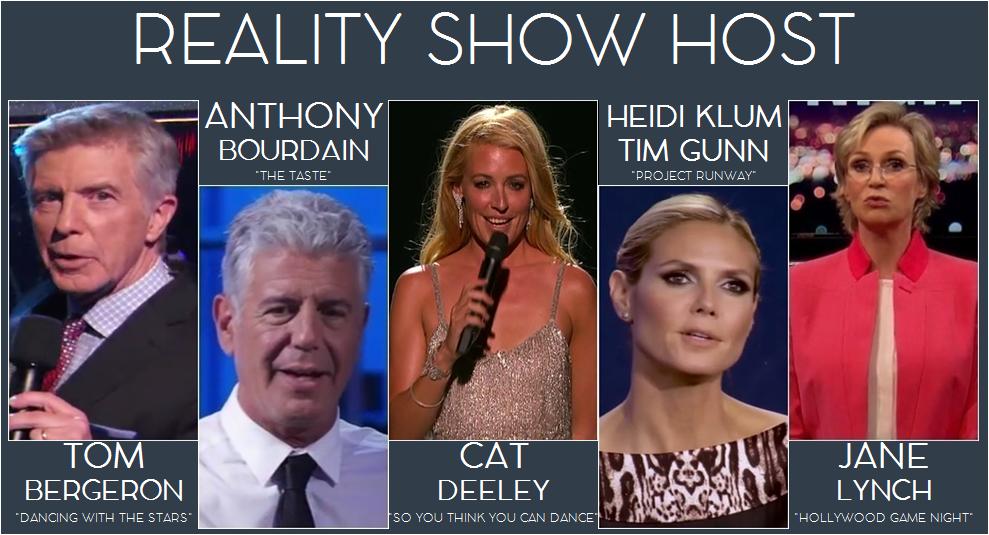 reality host
